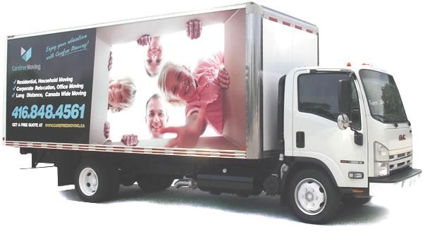 Moving Truck rental in Toronto