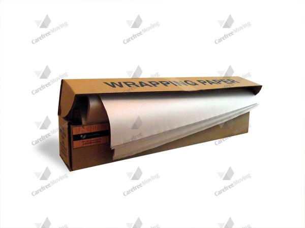 5lb Box Packing Paper - clean newsprint paper sheets