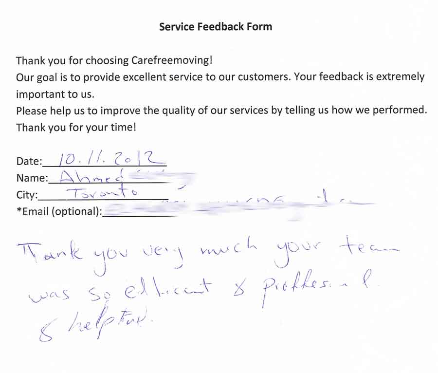Thank you very much, your team was so efficient & professional & help to.
