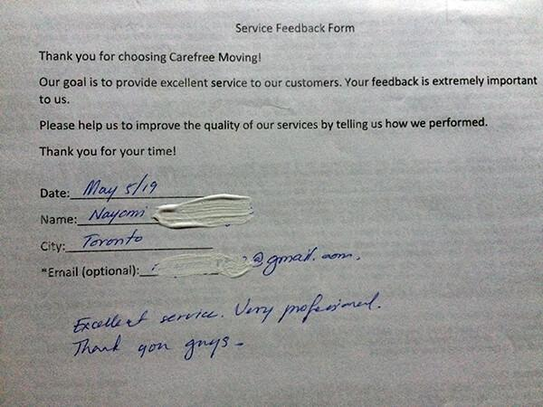 Excellent service, very professional