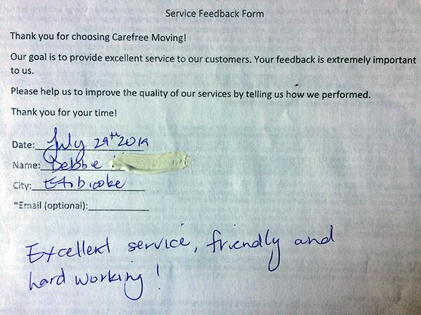 Excellent service, friendly and hard working